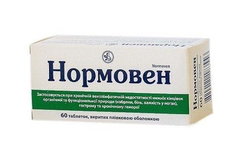 Нормовен является хорошим профилактическим препаратом, который можно применять при наличии геморроя на разных стадиях