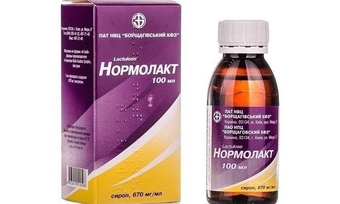 Нормолакт относится к категории осмотических слабительных средств