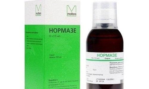 Одним из эффективных слабительных средств считается препарат Нормазе