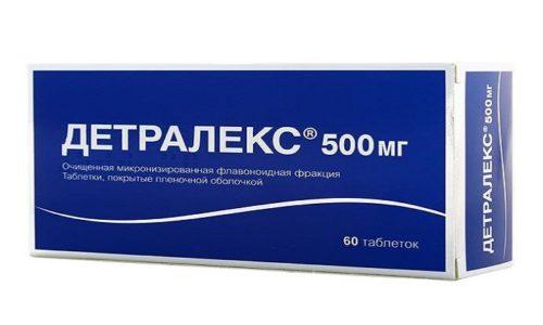 Аналог Венаруса 1000 - препарата Детралекс