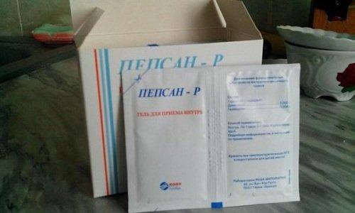 Активными веществами геля Пепсан-Р являются диметикон и гвайазулен