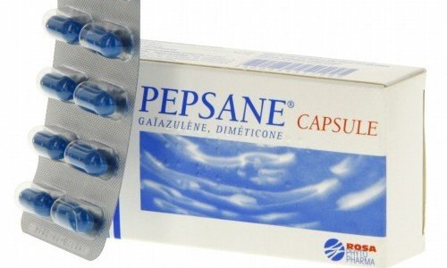 Пепсан-Р выпускают в форме капсул
