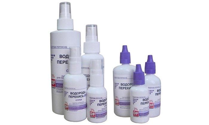 В плане дезинфекции при наружном использовании можно применять перекись водорода