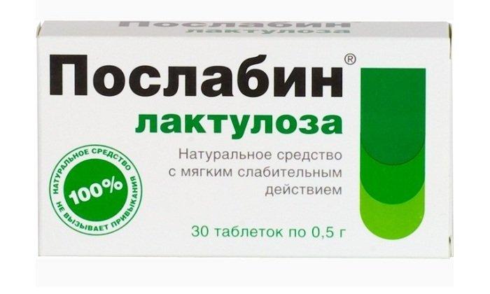 Послабин - медикамент российского производства на основе лактулозы