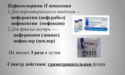 При простатите в стадии обострения применяют антибиотики группы цефалоспоринов