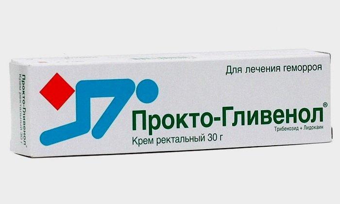 Препарат Прокто Гливенол позиционируется как противогеморроидальное средство