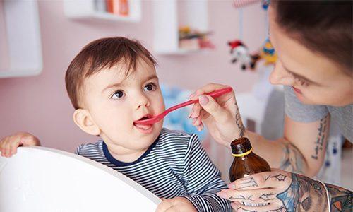 Детям от 1 до 6 лет назначается по 5-10 мл препарата Нормазе