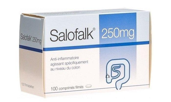 Салофальк относится к препаратам, обладающим противовоспалительным и антибактериальным средством