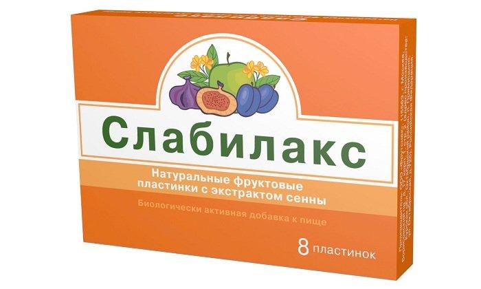 Похожим действием обладает препарат Слабилакс