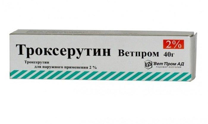 Мазь Троксерутин применяется при заболеваниях, которые характеризуются нарушением оттока крови в сосудах