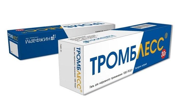 Тромблесс обладает обезболивающим, противоотечным, антипролиферативным и противовоспалительным эффектом