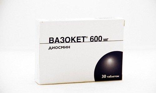 Вазокет 600 является мощным препаратом, способствующим восстановлению эластичности сосудов
