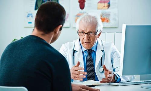 Из-за стертой клинической картины пациенты поздно обращаются к врачу, когда состояние усугубляется