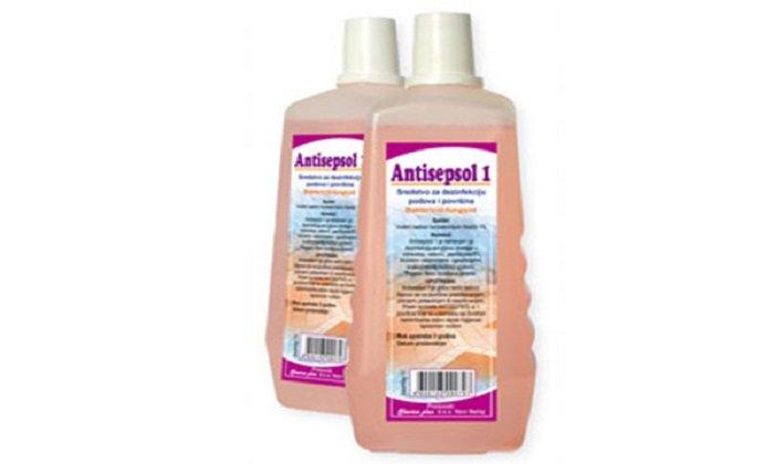 Антисептик с ромашкой Антисептол используется часто вместо раствора Ихтиола