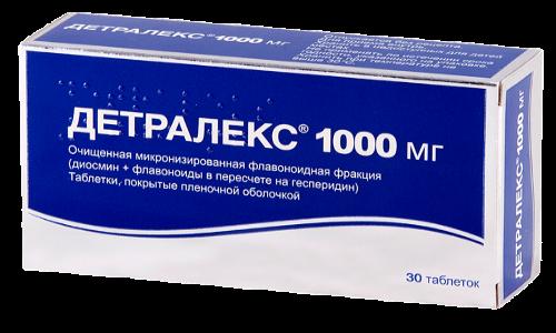 Врачи рекомендуют от геморроя принимать препарат Детралекс 1000