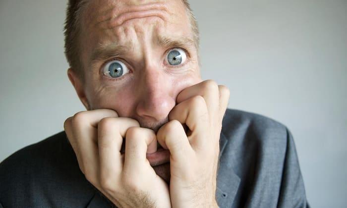 При развитии депрессивных состояний продукт снимает тревожность