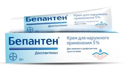 Бепантен используется для лечения всех видов ожогов