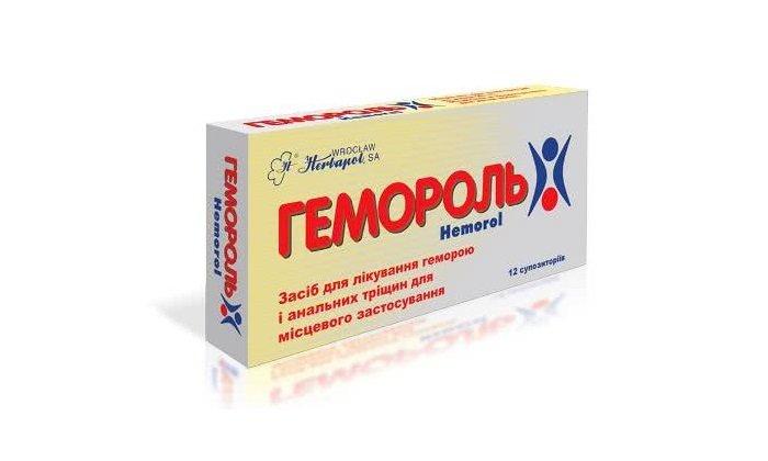 Мазь Гемороль — эффективное средство для лечения геморроя