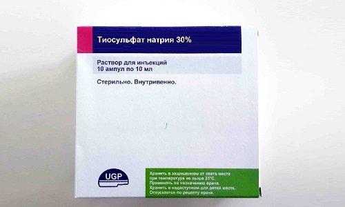 Препарат выпускается в виде ампул, содержащих 5 или 10 мл 30%-ного стерильного раствора