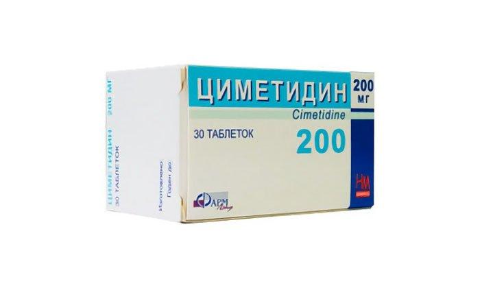 Циметидин способствует усиленному действию препарата