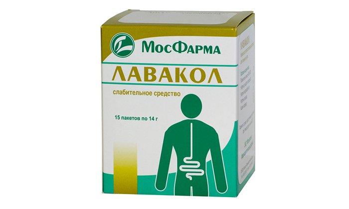 Препарата Макрогол содержится в лекарстве Лавакол, это слабительное средство с осмотическими свойствами