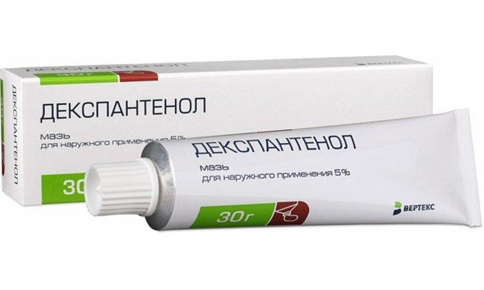 Декспантенол - регенерирующее и заживляющее трещины средство