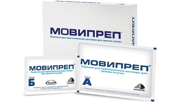 Мовипреп, это слабительный препарат, выпускаемый в форме раствора, содержит медикаментозное средство Макрогол