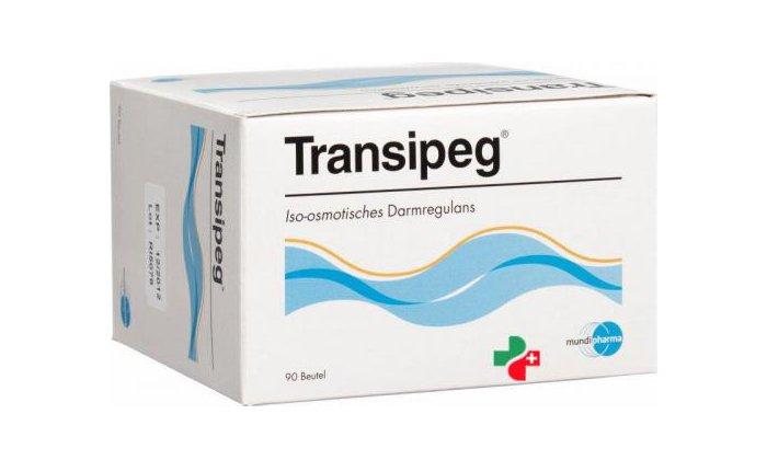 Транзипег - слабительный порошок для приема внутрь, направлен на устранение признаков запора