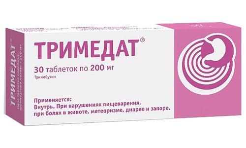 Тримедат эффективно устраняет нарушения моторики желудка и кишечника как в случаях повышенной, так и недостаточной активности