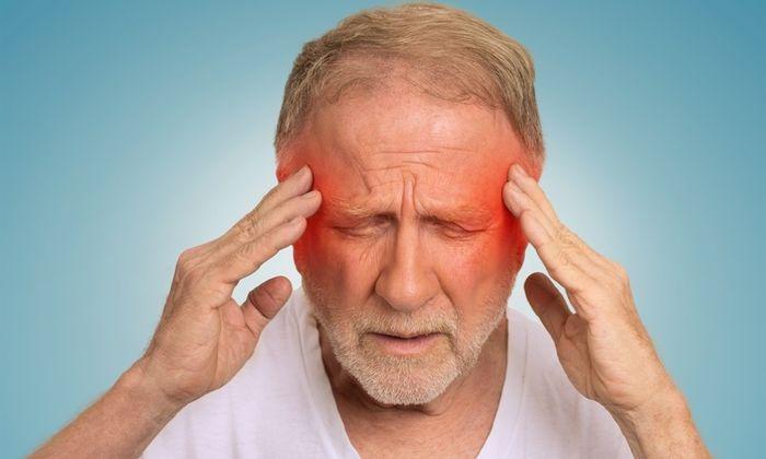 В процессе лечения может развиться мигрень