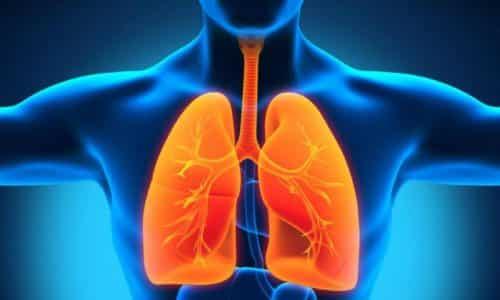 Операция не рекомендована в случае недостаточности дыхательной функции
