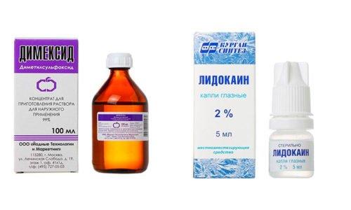 При травмах и болях в суставах многие люди делают лечебные компрессы и аппликации, имеющие в своем составе Димексид и Лидокаин