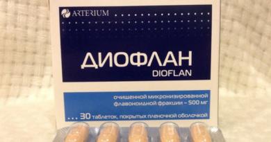 Как лечить геморрой средством Диофлан