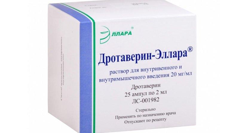 Дротаверин-Эллара — средство для борьбы с геморроем