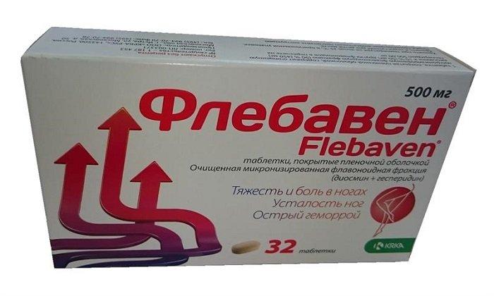 Флебавен 500 — эффективное средство для лечения геморроя