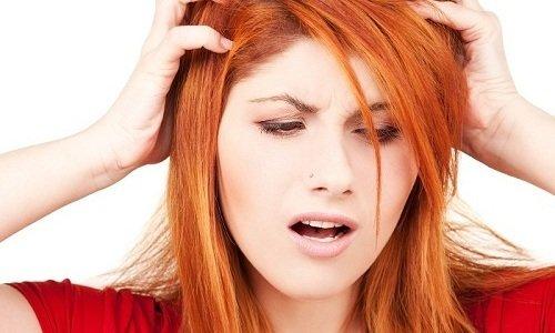Если использовать действующее вещество, то может проявиться побочная симптоматика в виде болей в голове