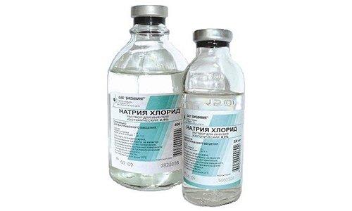 В состав препарата входит хлорид натрия