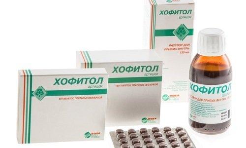 Если Аллохол выпускается только в таблетированной форме, то у Хофитола - 2 формы выпуска: таблетки и раствор для приема внутрь