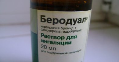 Беродуал и натрия хлорид