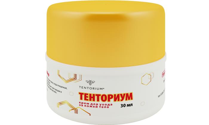 Крем Тенториум применяется при надрывах тканей и наносится на наружные геморроидальные узлы