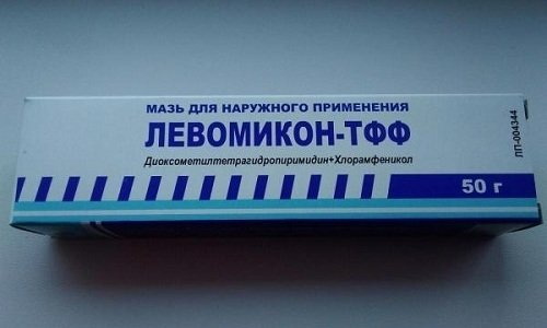Левомикон ТФФ - медпрепарат, показанный к применению при гнойных повреждениях кожи