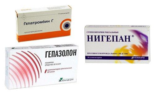 Рассматриваемое вещество присутствует в ряде лекарств: Нигепан, Гепатромбин и т. д