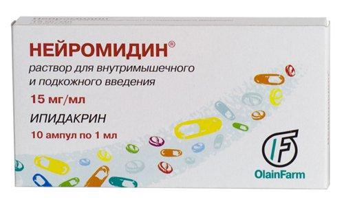 Нейромидин 15 - лекарственное средство, используемое в лечении заболеваний нервной и сердечно-сосудистой систем