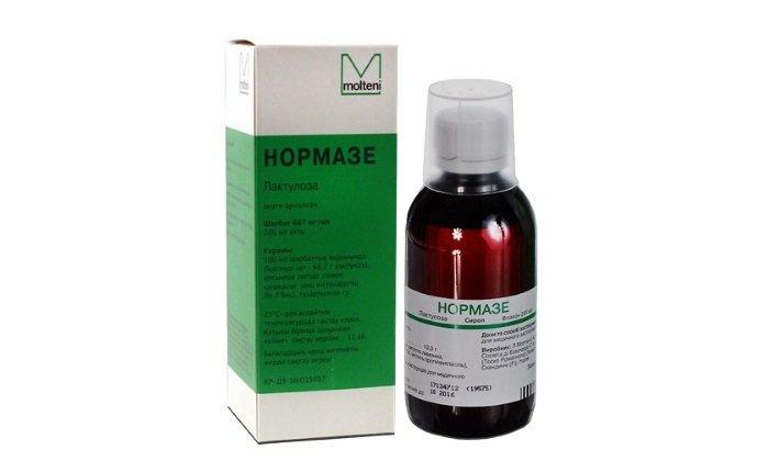 Нормазе - лекарство итальянского производства, выпускается в виде сиропа для приема внутрь