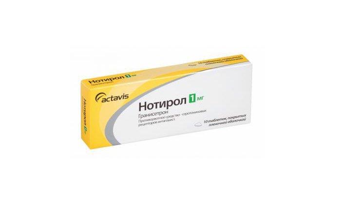 Препарат можно заменить Нотиролом