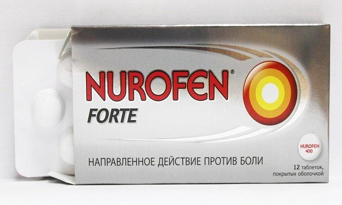 Нурофен принимают через 10-15 минут после приема Но-шпы