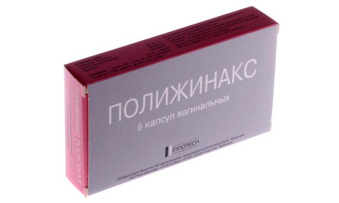 Полижинакс используют для профилактики инфекционных осложнений перед проведением внутриматочных диагностических процедур и операций