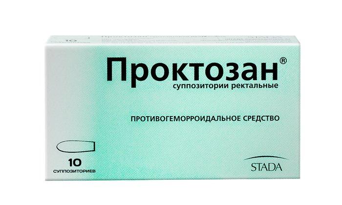 Проктозан может заменить свечи Ауробин