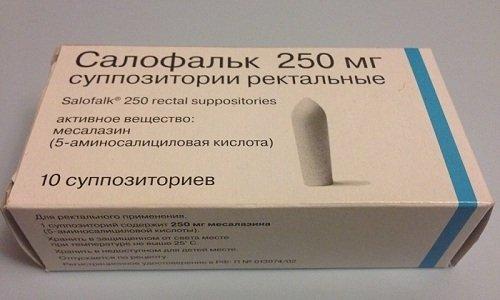 Для лечения проктологических заболеваний могут назначить препарат Салофальк 250