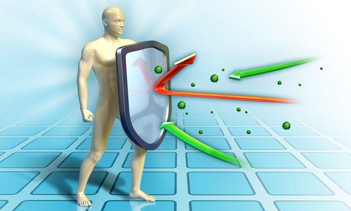 Цинк усиливает иммунитет, способствует выработке антител, тимина и тиозина